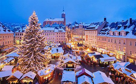 Lincoln, England. Christmas market.