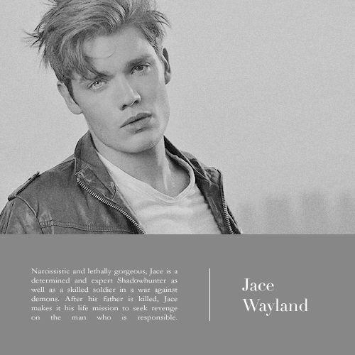 Jace Wayland (Herondale) #ShadowhuntersTV