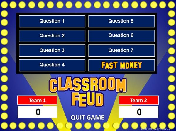 Best 25+ Family fortunes game ideas on Pinterest Family feud - Family Feud Power Point Template