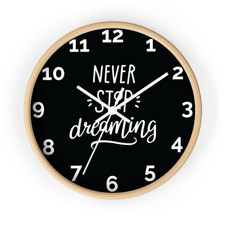 Excited to share the latest addition to my #etsy shop: Decorative Clock/ Wood Wall Clock/ Wooden Wall Clock/ Kids Wall Clock/ Nursery Clock/ Modern Clock/ Unique Wall Clocks/ Nursery Decor http://etsy.me/2Fb97um #housewares #clock #housewarming #bedroom #decorativecloc