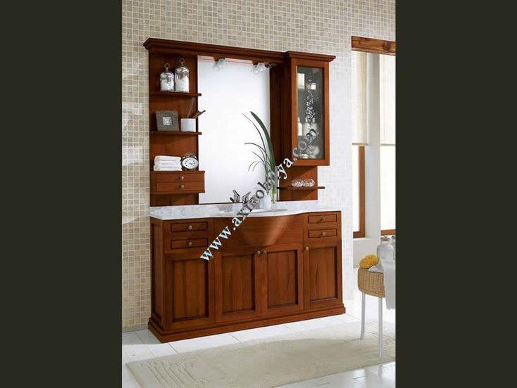 Kahverengi Banyo Dolapları