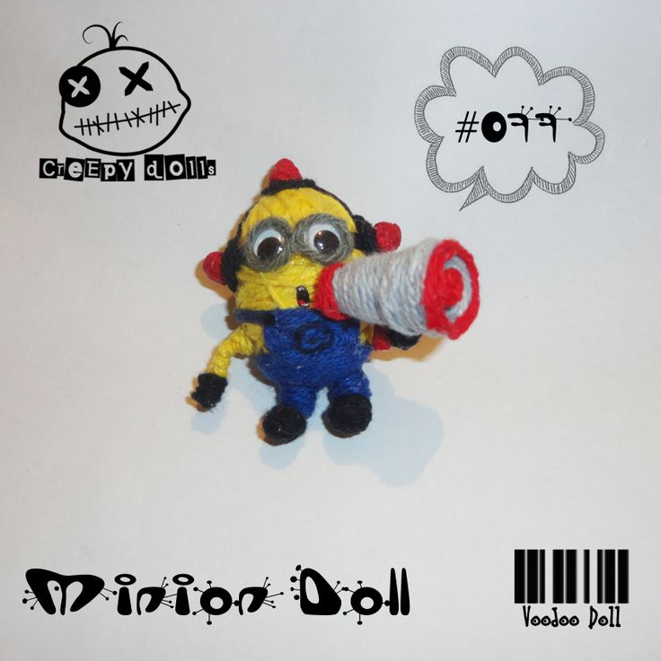 Minion Doll Bee Do Bee Do #077 String Doll / Voodoo Doll Despicable Me, Minions