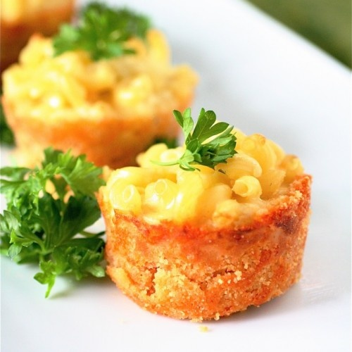 ... Mac and Cheese Pies | BOCADITOS | Pinterest | Minis, Dishes and Mac