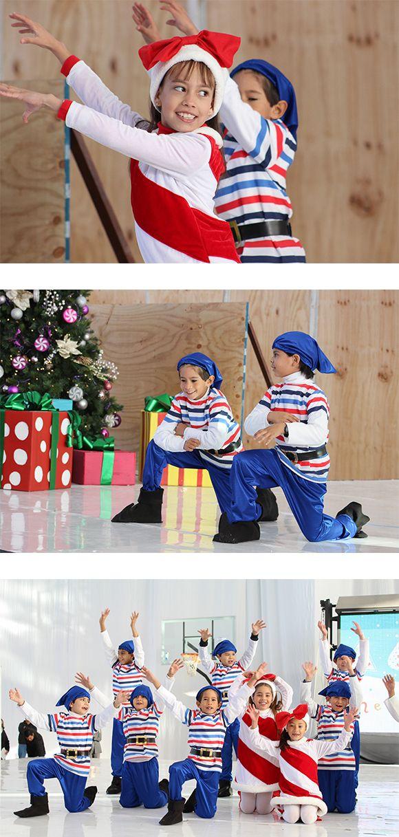 Duendes azul y rojo navidad