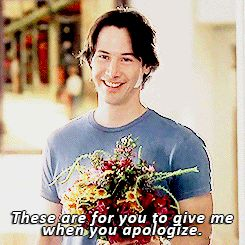 movie flowers keanu reeves apology somethings gotta give