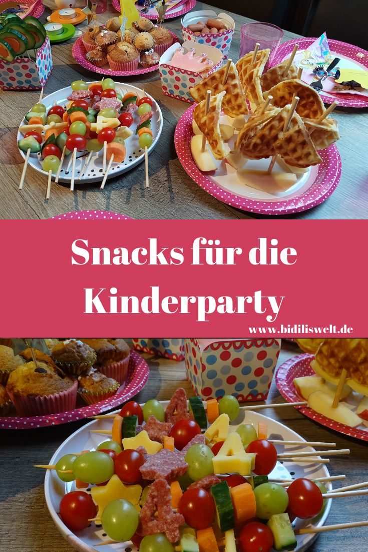 Kindergeburtstag Snacks