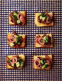 Avocado salsa & pork pibil