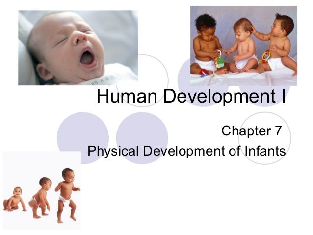 Human Development-Chapter 7-Physical Development of Infants. PLease identify the Stages of Infancy. What is the environment that supports that growth.  Create a Timeline of Development.