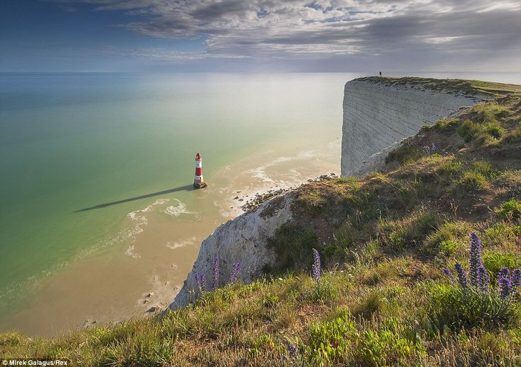 Best of British: This stunning view of Beachy Head in Sussex, taken by Mirek Galagus, was part of the Landscape Photographer of the Year award