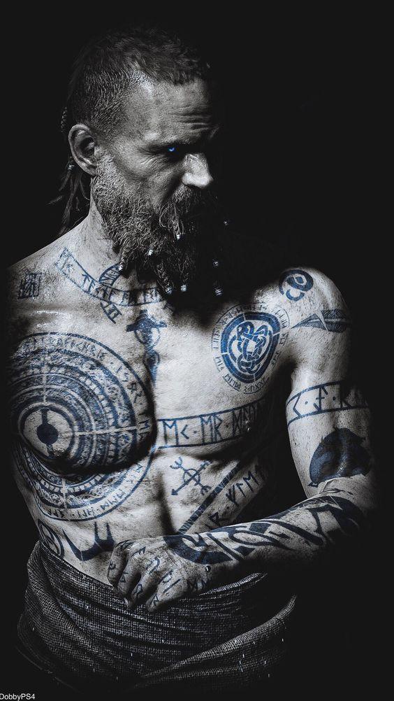 Vikinger Tattoo – Viking Tattoos Ideas #wikingertattoo #vikings