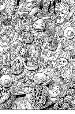 39 best Wildergorn Adult Coloring Pages images on Pinterest ...