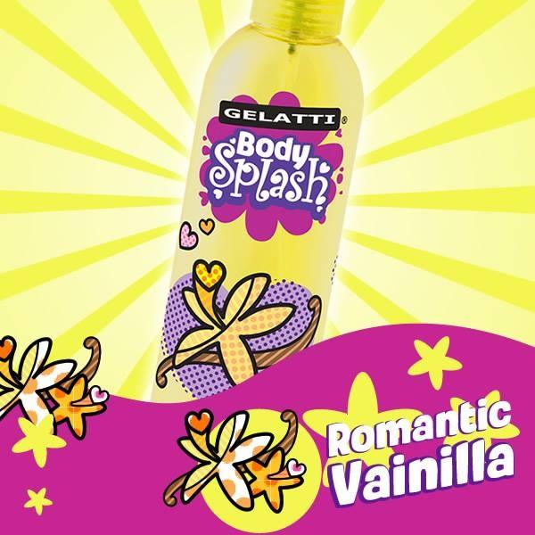 Gelatti Body Splash Romantic Vainilla