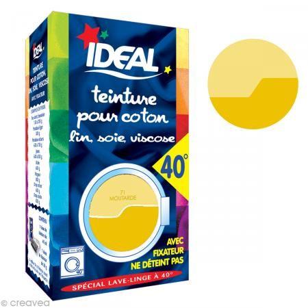 teinture tissu idal liquide jaune moutarde 71 mini375 euros - Colorant Vetement
