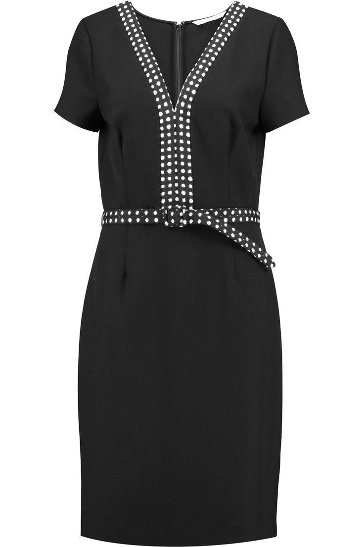 DIANE VON FURSTENBERG Maisie crepe dress. #dianevonfurstenberg #cloth #dress