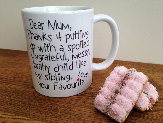 Mum mug por personalisedmugs4u en Etsy