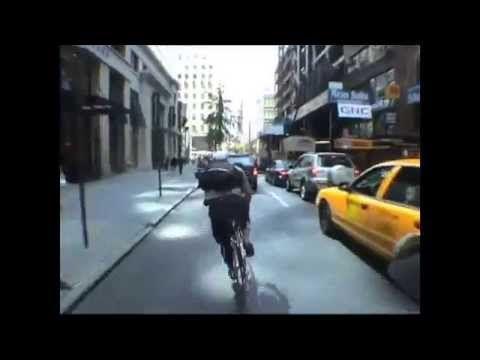 Bike Messenger Races (Multiple Cities) - YouTube