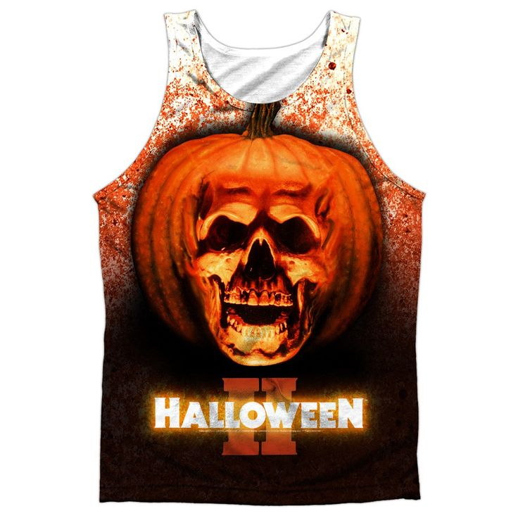 "Checkout our #LicensedGear products FREE SHIPPING + 10% OFF Coupon Code ""Official"" Halloween Ii/pumpkin Skull -adult 100% Poly Tank T- Shirt - Halloween Ii/pumpkin Skull -adult 100% Poly Tank T- Shirt - Price: $24.99. Buy now at https://officiallylicensedgear.com/halloween-ii-pumpkin-skull-adult-100-poly-tank-shirt-licensed"