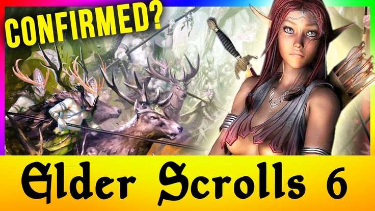Elder Scrolls 6 VI Valenwood CONFIRMED? Skyrim Remastered Move Aside (TES Release Date Speculation)