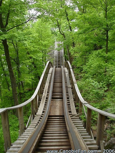 Boulder Dash at Lake Compounce in Bristol, Connecticut. By Canobie Fan