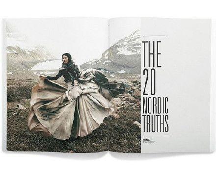 推荐!9枚优秀杂志内页版式设计