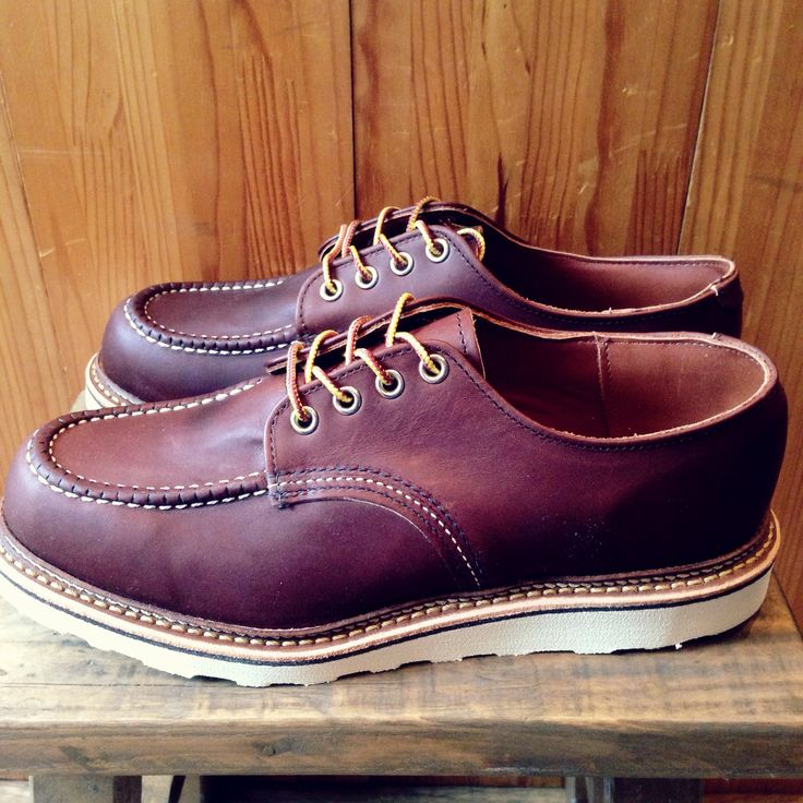 Red wing Work Oxford 8106 Chrome