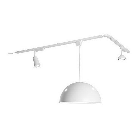 IKEA Living Room Lighting Using Modern Spotlights