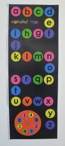 A fun way to practice letter recognition and letter sounds
