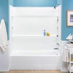 Everyday Essentials Veritek Three Panels Bath Alcove Walls