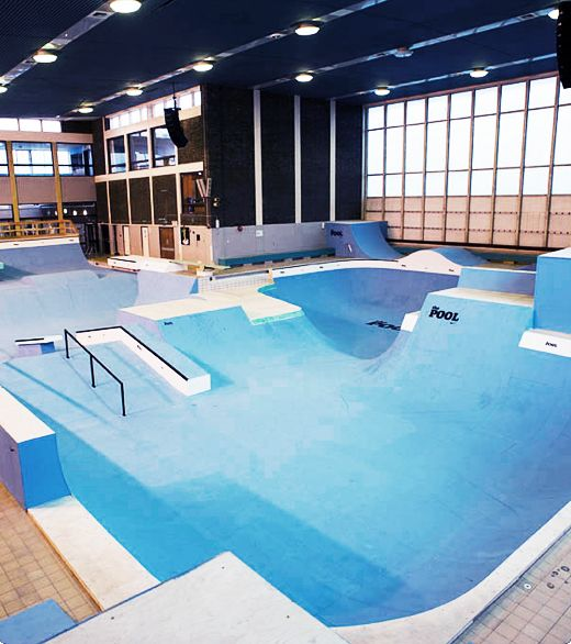 The Pool by Nike, a place for BMX fans to come learn from 40 of the world's best riders