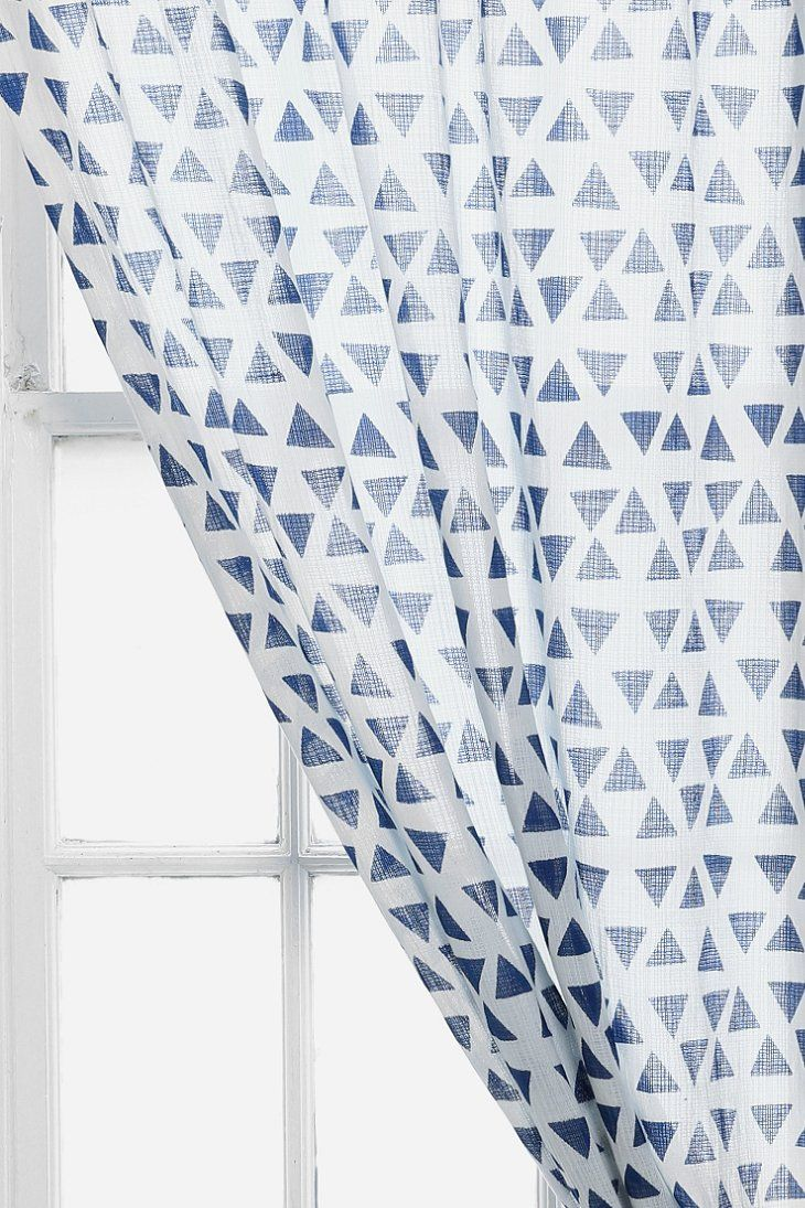 Magical Thinking Triangle Curtain Urban Outfitters Curtains And Urban