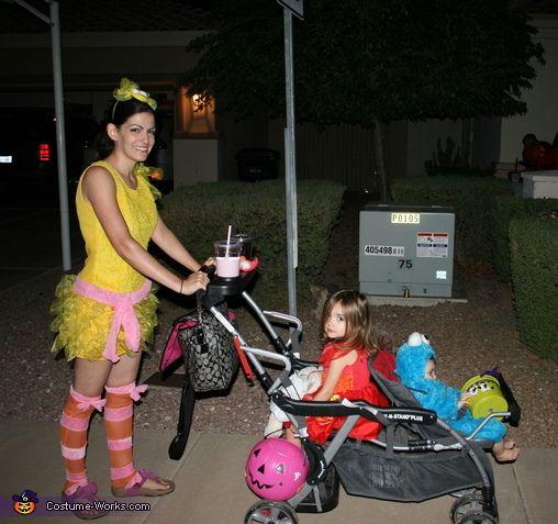 Sesame Street Family Costume
