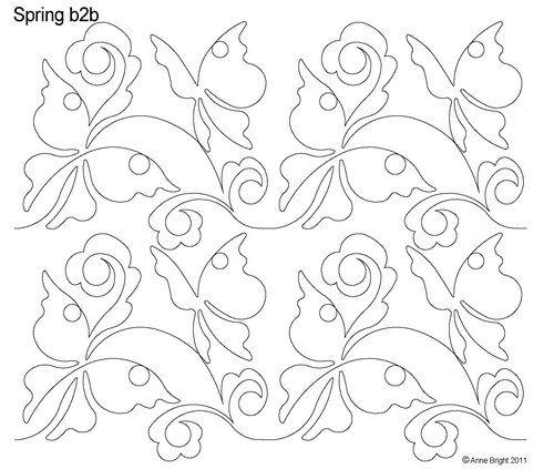 AnneBright.com - Shop | Category: Digitized Designs | Product: Spring b2b Elegant butterflies
