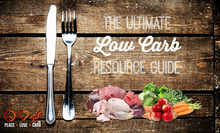 The Ultimate Low Carb Resource Guide - Recipe Sites, Cookbooks, Shopping Lists, Real Food Snacks and more | Peace Love and Low Carb