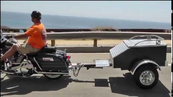 "Lumina Motorcycle Trailer - ""STAY-cation Getaway"""