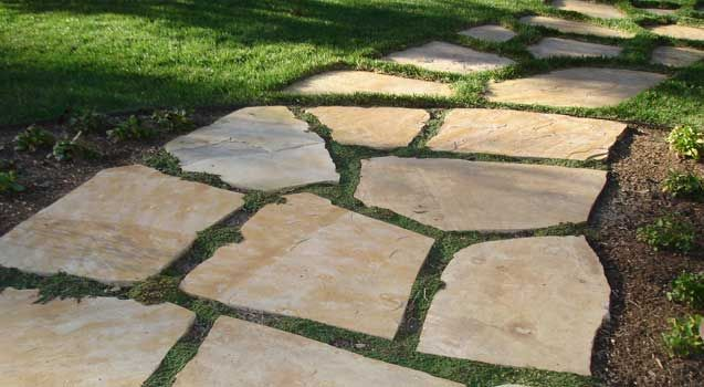 47 best images about flagstone paths walkways mortar