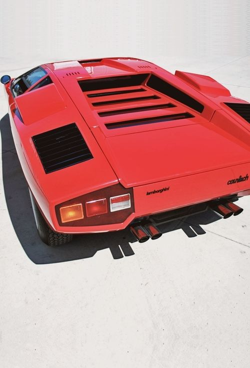 lamborghini countach early non winged version cars and. Black Bedroom Furniture Sets. Home Design Ideas