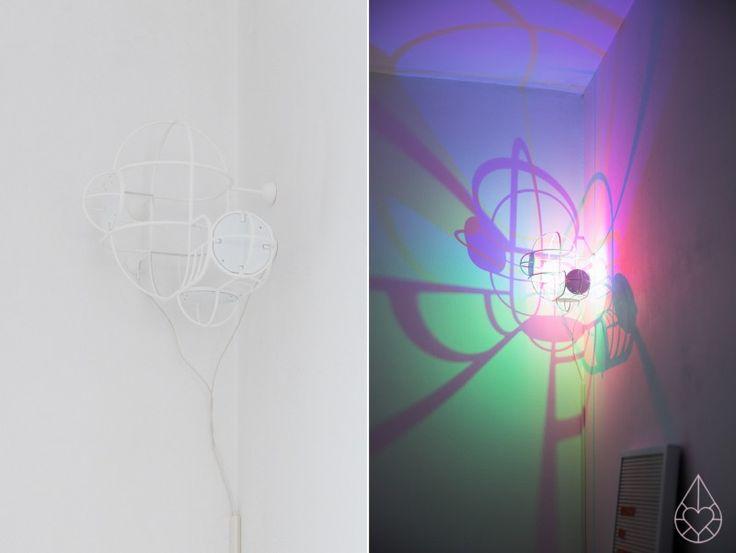 CMYK lamp Studio de Winkel, by zilverblauw.nl