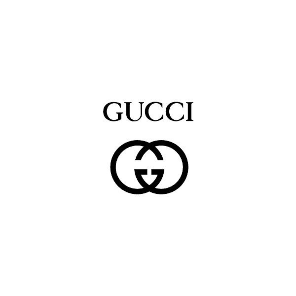Gucci logo they keep that same thing with the two g's in