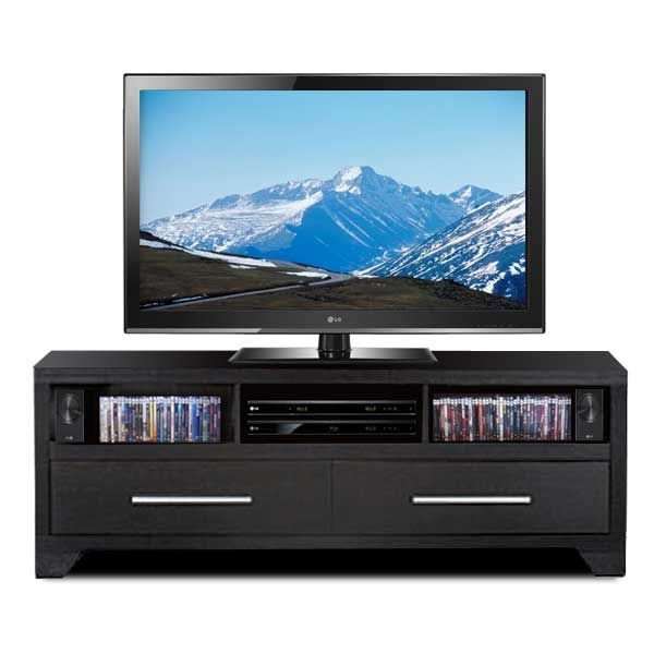 Black Entertainment Wall Unit By ID USA Furniture Is Now Available At American  Furniture Warehouse.