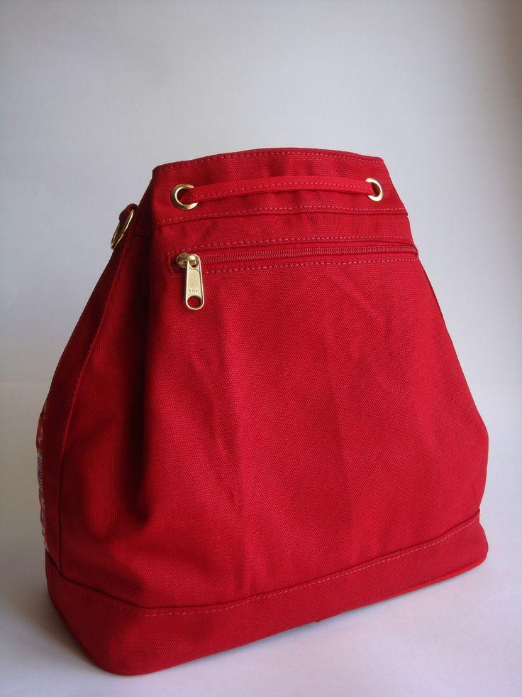 Bolsa Feita Com Tecido De Sombrinha : As melhores ideias de sacos vermelhos no
