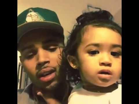 Chris Brown & Daughter Royalty - YouTube