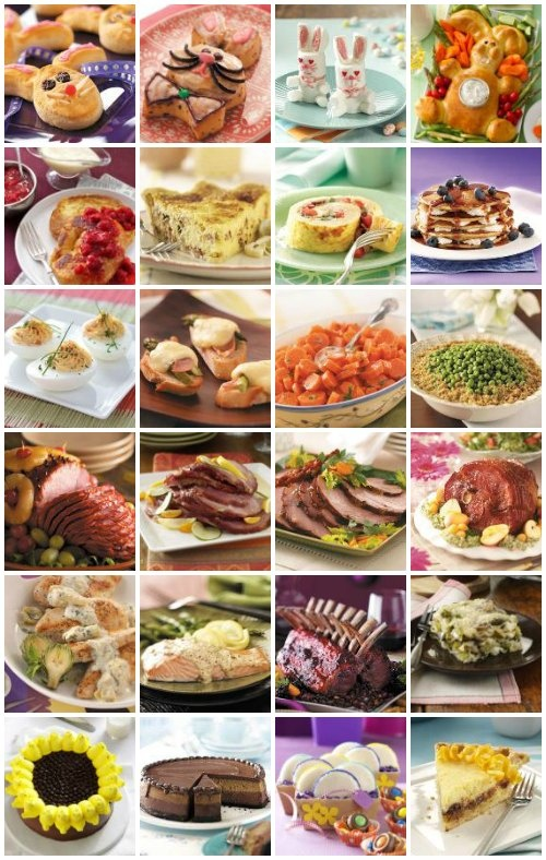 Easter Recipes from Taste of Home -- From Easter brunch to ham recipes to Easter desserts, create your own holiday menu with these recipes for appetizers, side dishes, Easter dinner, dessert recipes and more!  http://pinterest.com/taste_of_home/