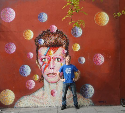 David Bowie Brixton mural officially unveiled