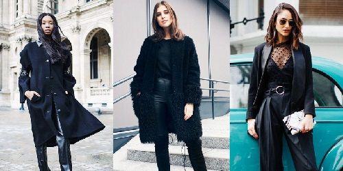 Total black: 5 τοπ συνδυασμοί για να τα φορέσεις όλα μαύρα, όλη μέρα.