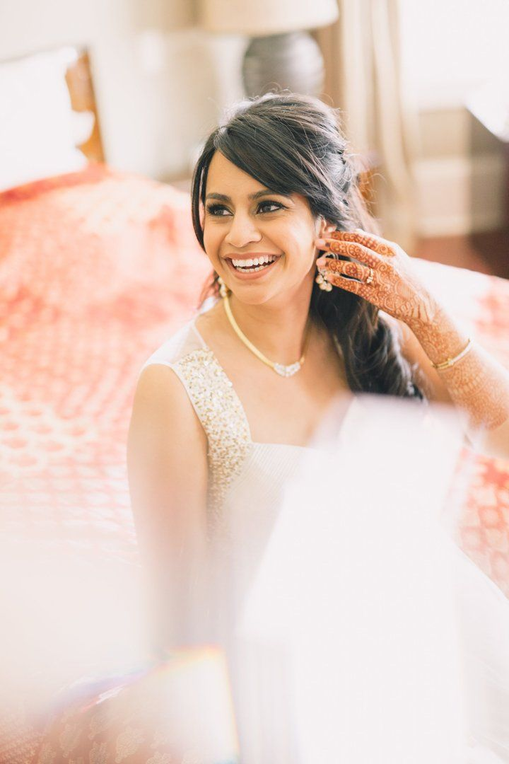 The Breathtaking Location of This Outdoor Indo-American Wedding Will STUN You
