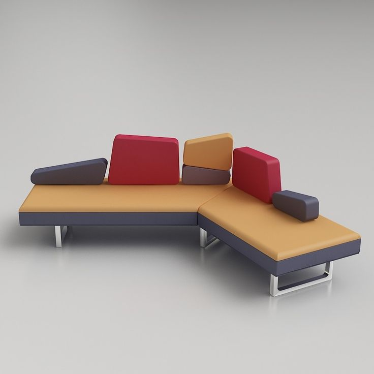 modular sofa 3ds max autocad couch sofas