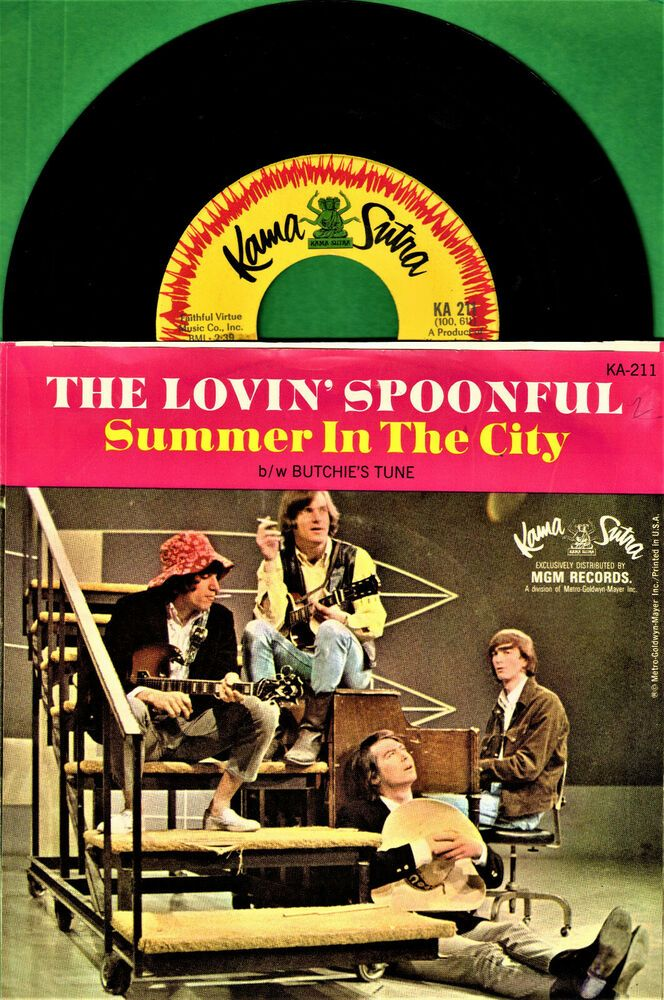Details About Lovin Spoonful Summer In The City Group Rock Picture Sleeve 45 Rpm Record In 2020 45 Rpm Record Records 45 Rpm