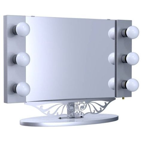 Lighted Vanity Mirror With Desk : 25+ best ideas about Cheap vanity table on Pinterest Diy dressing table stools, Cheap vanity ...