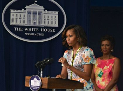 FLOTUS Gives Firm Message To Students At Whitney Young Screening | News One