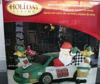 Airblown Inflatable Christmas Dale Earnhardt Jr 88 Car